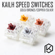 kailh speed switch RGB SMD  MX Swithes For Backlit Mechanical Gaming keyboard