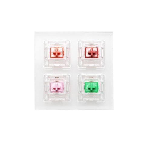 aluminum/Acrylic Switch Tester 2X2 EVERGLIDE SWITCH RGB