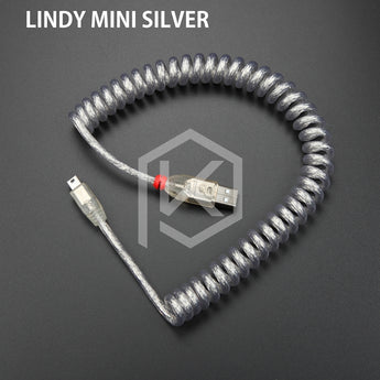 LINDY Cable wire Mechanical Keyboard GH60 USB cable mini USB port for poker 2 GH60 keyboard kit DIY - KPrepublic