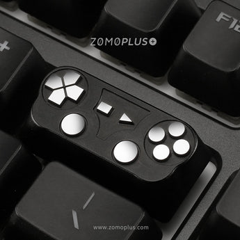 Zomo GamePad PS Handle Controller Backspace Artisan Alunimium Keycap