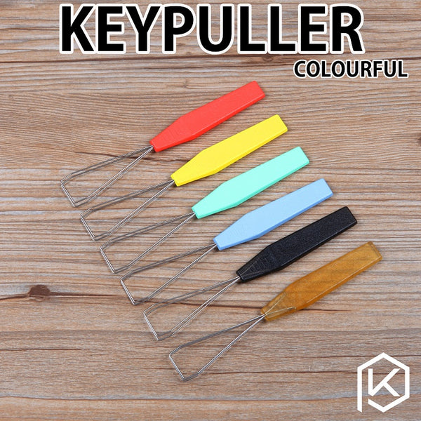 Wire Keyboard Keycap Puller Key Cap Plastic Handle