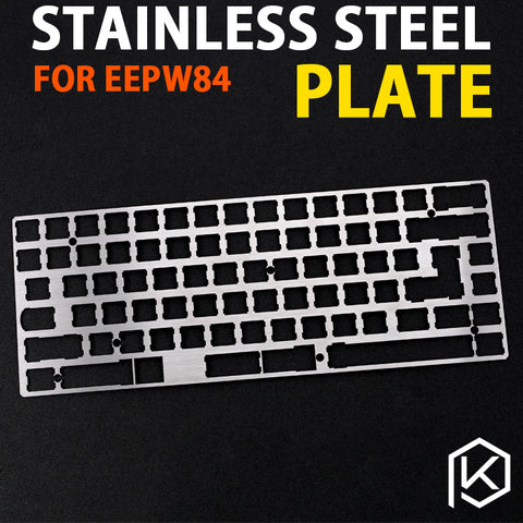 D84 eepw84 stainless steel Mechanical Keyboard Plate support stainless steel plate for eepw84 xd84 pcb 75%