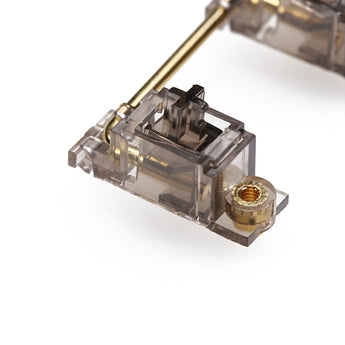 Everglide Black Transparent Gold Plated Pcb screw-in Stabilizers
