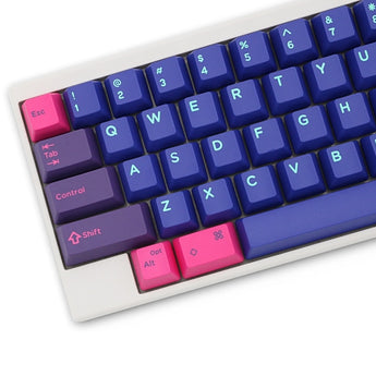 Domikey hhkb abs doubleshot keycap set cyberpunk topre stem mechanical keyboard