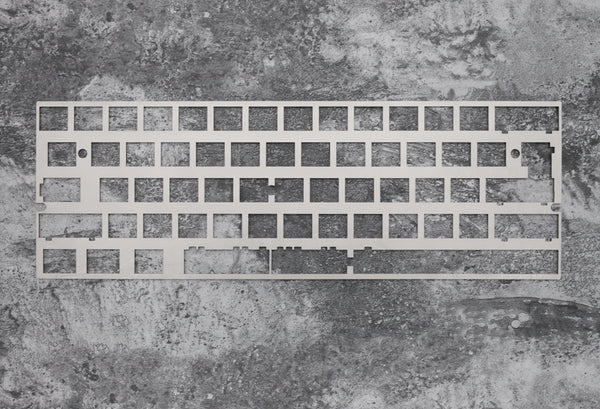 Alps 60% stainless steel plate mechanical keyboard support xd60 xd64 2.25u 2u left shift