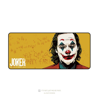 Mousepad Joker 900 400 4mm Stitched Edges Rubber High quality soft Jacquard fabric