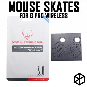 Hotline games mouse feet skates glides 2 sets/pack competition level logitech g pro wireless 0.8mm thickness