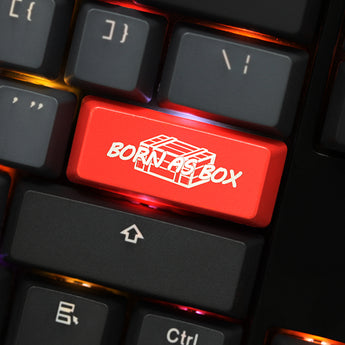 Novelty Shine Through Keycaps ABS Etched Shine-Through winner winner chicken dinner pubg red for mechanical keyboard enter 2.25u