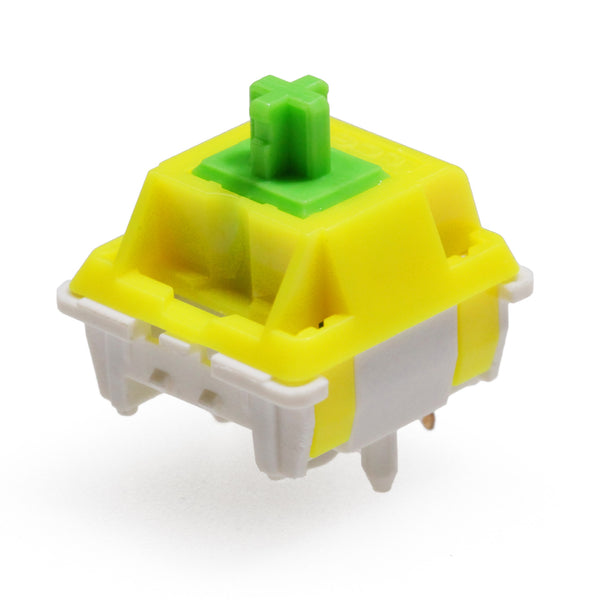 LCET Sprout Switch RGB Linear 50g Switches For Mechanical keyboard mx stem 5pin Green Yellow