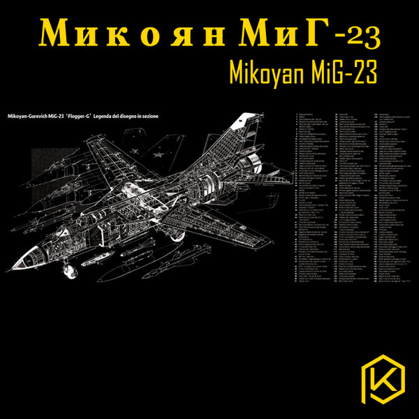 Mechanical keyboard Mousepad Mikoyan-Gurevich MiG-23 battleplane 900 400 4 mm non Stitched Edges Soft/Rubber High quality