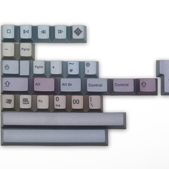 Monte Carlo Random Color keycap set Cherry profile Dye Sub Keycap Set keyboard gh60 xd60 xd84 tada68 rs96 zz96 87 104