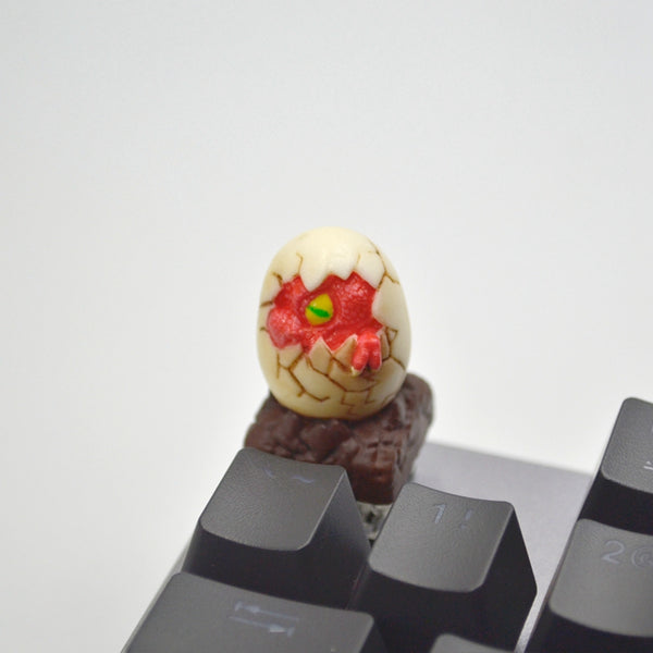 [CLOSED][GB] Lil-Moemon Novelty Dragon Egg colourful Resin hand-painted keycaps