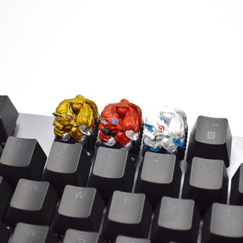 [CLOSED][GB] Lil-Moemon Nine-tailed fox Novelty resin hand-painted keycap