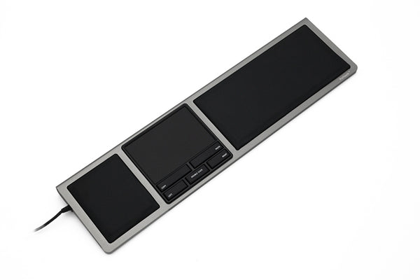 ProTouch Pad-wrist multitouch supported Aluminium cover and leather surface