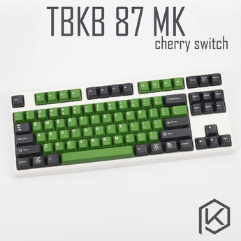 Tbkb Mechanical Keyboard 87 keys kinds of led effects PCB 80% Gaming Keyboard LED Backlight cherry switch blue red brown black