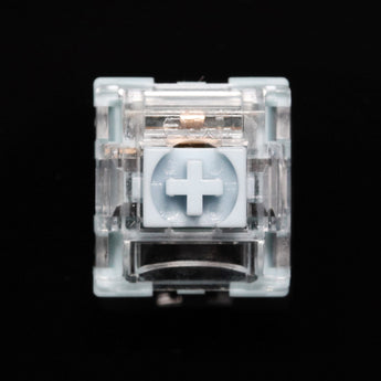TTC Bluish White 42g Switch Tactile Switches For Mechanical Keyboard MX Series 3 Pins smd rgb light cyan colorway