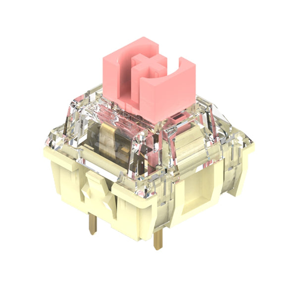 TTC Gold Pink switch 3pin RGB SMD linear 37g force mx clone switch100m