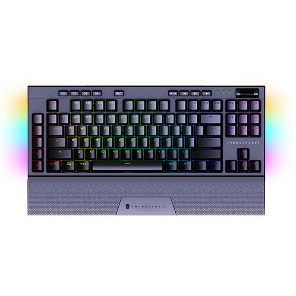 Thunderobot KL30 Dual Mode 2.4g Mechanical Keyboard 80% RGB magnetic wrist macro pbt keycap