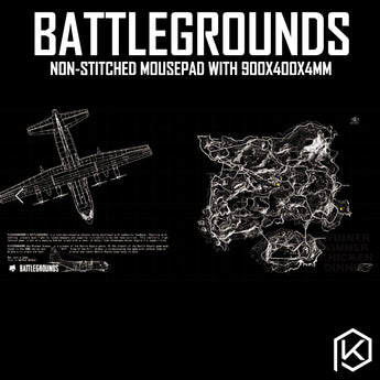 Mechanical keyboard map pubg Player Unknown's Battlegrounds Mousepad 900 400 4 mm non Stitched Edges Soft/Rubber High quality