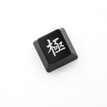 Novelty Shine Through keyboard keycap ABS Shine-Through ig invictus gaming lpl champion black red enter backspace r4 r1 esc