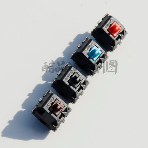 cherry switch 3pin 5pin blue red black brown linear green white clear for custom mechnical keyboard xd64 xd60 eepw84 gh60 tada