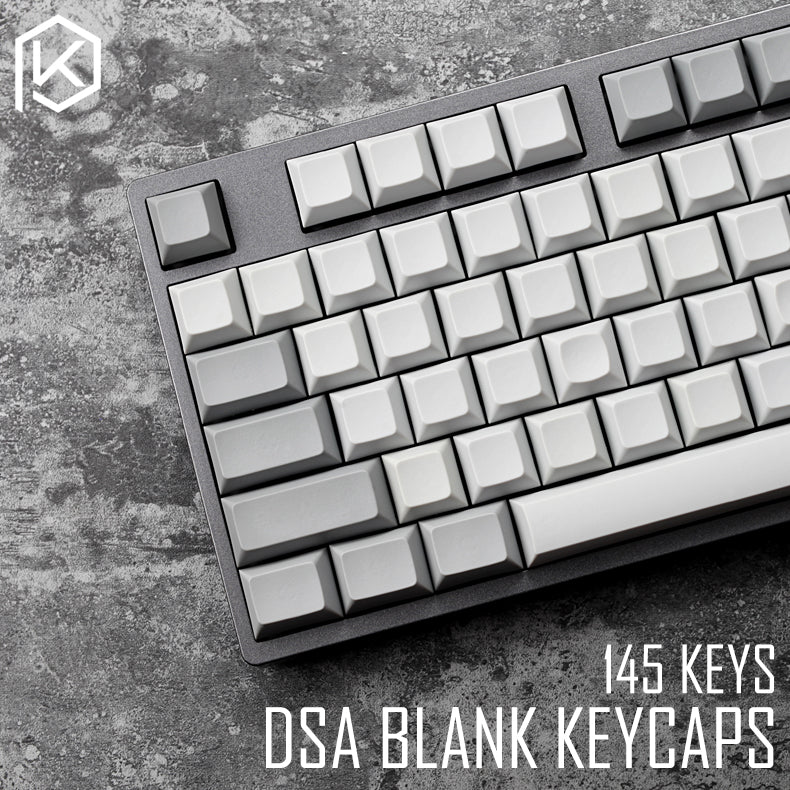Suitable for MX Switches,White 82 Keycaps DSA Keycaps Additional Keycaps PBT Keycaps Gray and White Styles