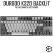 durgod 87 corona k320 backlit mechanical keyboard cherry mx switches pbt doubleshot keycaps