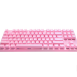 durgod 87 pink k320 backlit mechanical keyboard cherry mx switches pbt doubleshot keycaps
