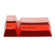 GMK abs esc and enter Novelty Set Doubleshot Cherry MX stems cherry profile