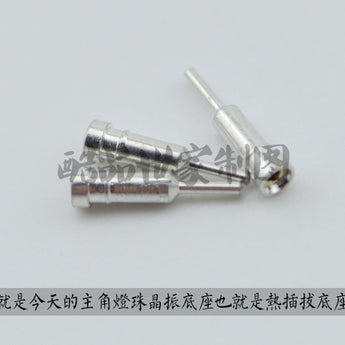 LED hot plug Crystal Oscillator base for cherry mx switch kailh gateron outemu otm blue red black brown