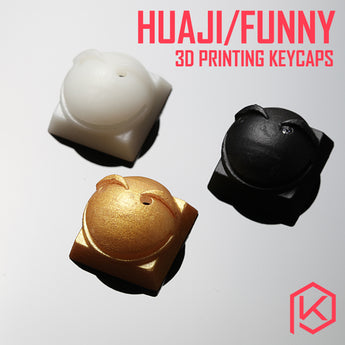 [CLOSED] [GB] 3D Printing Huaiji/Funny Emoji keycap shine through hight accuracy photosensitive resin novelty custom mechanical keyboards