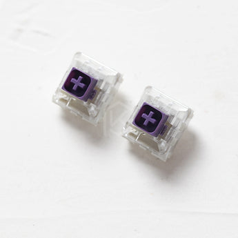 Novelkey Kailh Box royal royals Switch RGB SMD Purple Switches Dustproof Switch For Mechanical keyboard IP56 mx stem