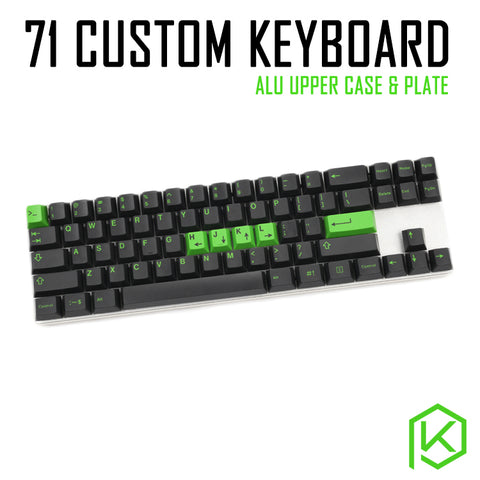 Custom Mechanical Keyboard Kit 71 keys kinds of led effects PCB 70% keycool Gaming Keyboard LED Backlight Available