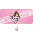 Mousepad Virtual YouTuber Kizuna ai A.I.Channel 900 400 4 mm Stitched Edges Soft/Rubber High quality
