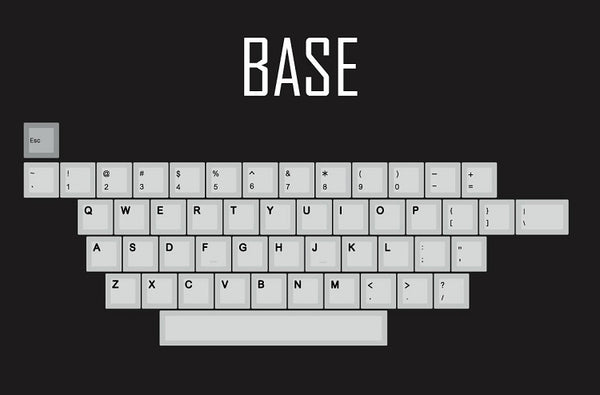 kprepublic 139 Cherry profile Dye Sub thick PBT plastic Keyset English font