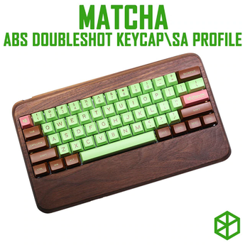 maxkey abs doubleshot keycap sa profile matcha for mechanical keyboards