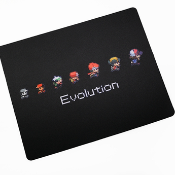 MOUSEPAD size 340 280 3 MM NON STITCHED EDGES RUBBER HIGH QUALITY
