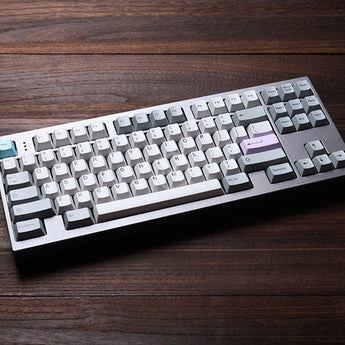 muted colorway 169 Cherry profile Dye Sub Keycap Set thick PBT plastic keyboard gh60 xd60 xd84 tada68 rs96 zz96 87 104 660