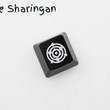 Novelty Shine Through Keycaps ABS Etched black red esc The Sharingan NARUTO Sasuke Naruto Kakashi Sakura Konohagakure