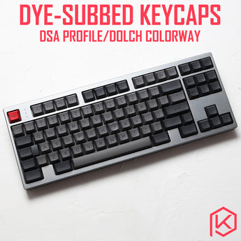 dsa dolch colorway dsa profile Dye Sub Keycap Set PBT plastic for keyboard gh60 xd60 xd84 cospad tada68 rs96 zz96 87 104 660