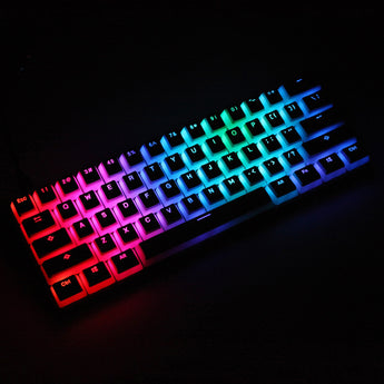pudding V2 pbt doubleshot keycap oem backlit mechanical keyboard white gh60 poker 87 tkl 104 108 ansi iso xd64 xd68 xd84 bm60