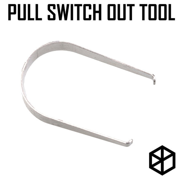 pull switch out tool stainless steel for switch puller from pcb or plate keyboard