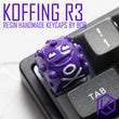 [Closed]bob handcraft resin koffing artisan keycaps for mx stem mechanical keyboards