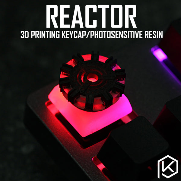 [CLOSED] [GB] Novelty Ark reactor 3D printing keycap photosensitive resin light through high-accuracy mechanical keyboards Free shipping - KPrepublic