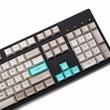 dsa profile Dye Sub Keycap Set PBT plastic retro beige for mechanical keyboard beige grey cyan gh60 xd64 xd84 xd96 87 104