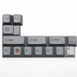 Russian Root Letter Cherry profile Dye Sub Keycap Set thick PBT for keyboard gh60 xd60 xd84 tada68 rs96 zz96 87 104 660 orange