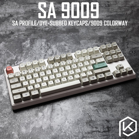 9009 colorway sa profile Dye Sub Keycap Set thick PBT plastic keyboard - KPrepublic