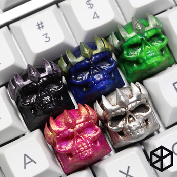 [CLOSED][GB] B.o.B Skeleton King Resin keycap mechanical keyboards