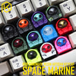 [CLOSED] [GB] B.o.B Space Marine keycap handmade resin colour mechanical keyboards novelty cherry profile