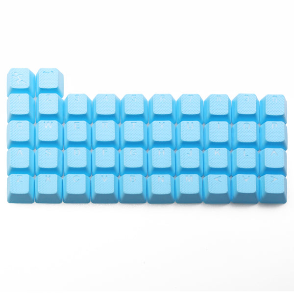 taihao Rubber Gaming Keycap Set Rubberized Doubleshot Cherry MX OEM Profile 42 key